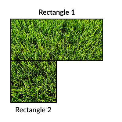 Instant Turf Melbourne - Lawn Calculator - Example 2