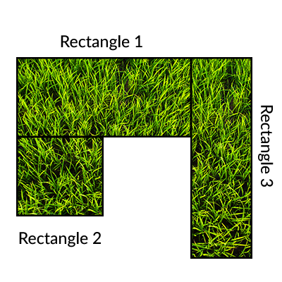 Instant Turf Melbourne - Lawn Calculator - Example 3